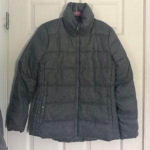 Old Navy Grey puffer coat size men's XS EUC
